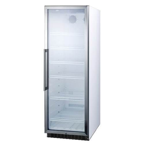 Summit 145 cu ft commercial beverage center scr1400w wish commercial glass door beverage merchandiser with digital from summit cyber monday planetlyrics Gallery