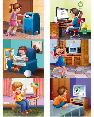 como elaborar los medios de comunicacion para niños preescolar - Buscar con Google