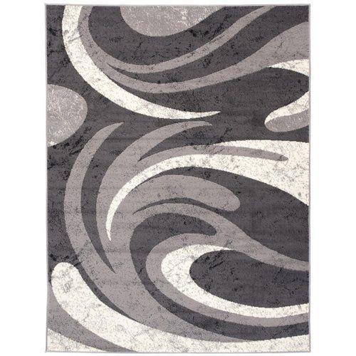 Teppich Taurean in Dunkelgrau 17 Stories Teppichgröße: Rechteckig 60 x 100 cm