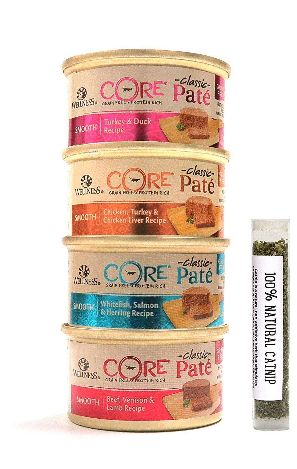 Wellness core natural canned grain free wet classic pate