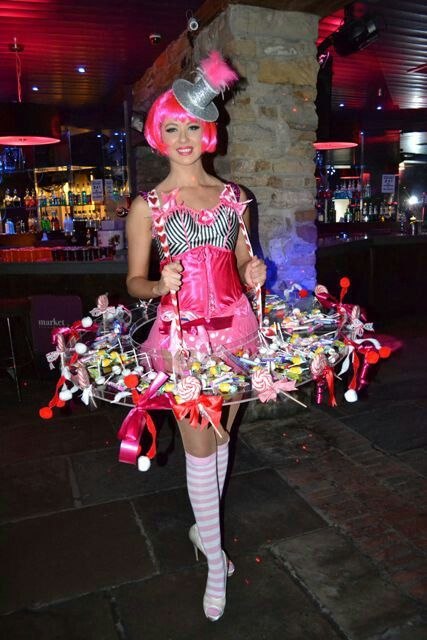Cigarette Candy Girl  Halloween Costumes, Zombies In 2019 -2240