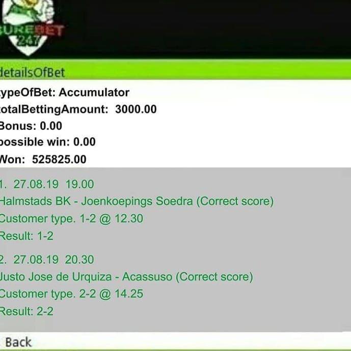 Tomorrow match correct score betting professional sports betting books online