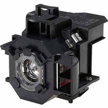 Power by Philips Replacement Lamp Assembly with Genuine Original OEM Bulb Inside for EPSON ELPLP47 Projector