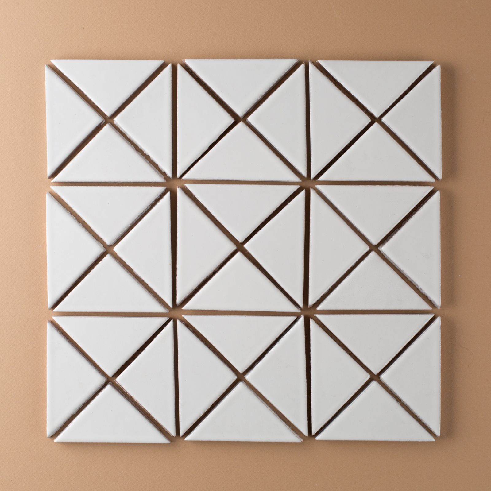 Try Any Of Our Triangle Tiles In A Single Color