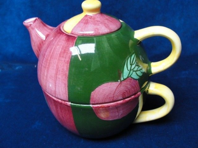 Royal Albert Cardew Ceramics One Cup Garden Bench Novelty Teapot Wear Chip Ebay Tea Pots Teapots And Cups Novelty Teapots