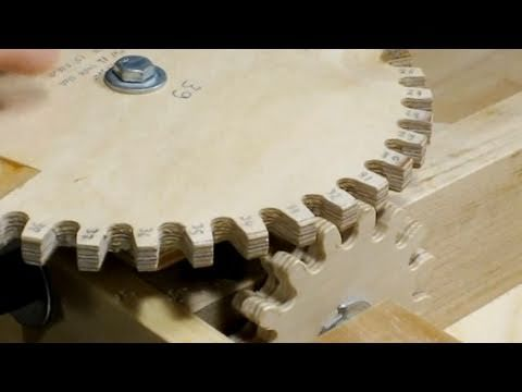 how to make wooden gears for complex woodworking projects in 2018