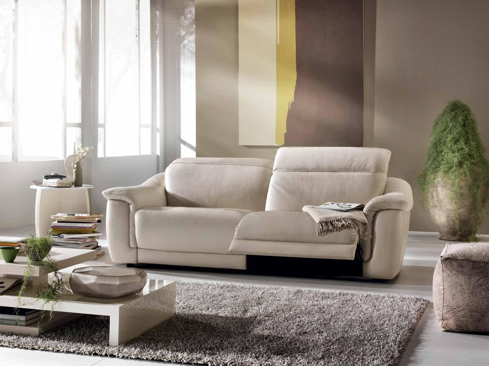 Divani Con Meccanismo Relax divani by natuzzi divano #volare, con meccanismo #relax