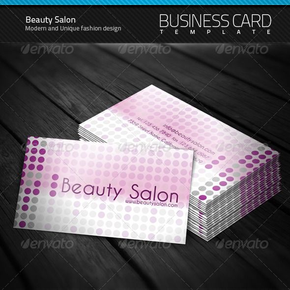 Beauty Salon Business Card Business Cards Salons And Business - Beauty salon business cards templates free