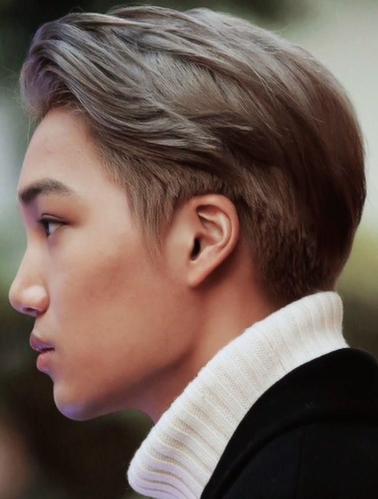 Undercut Exo Kai Hairstyle