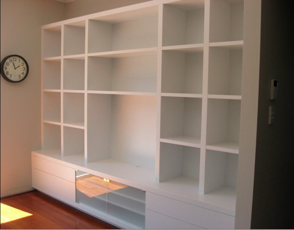 walls with built in shelves nz - Google Search | Projets à essayer ...