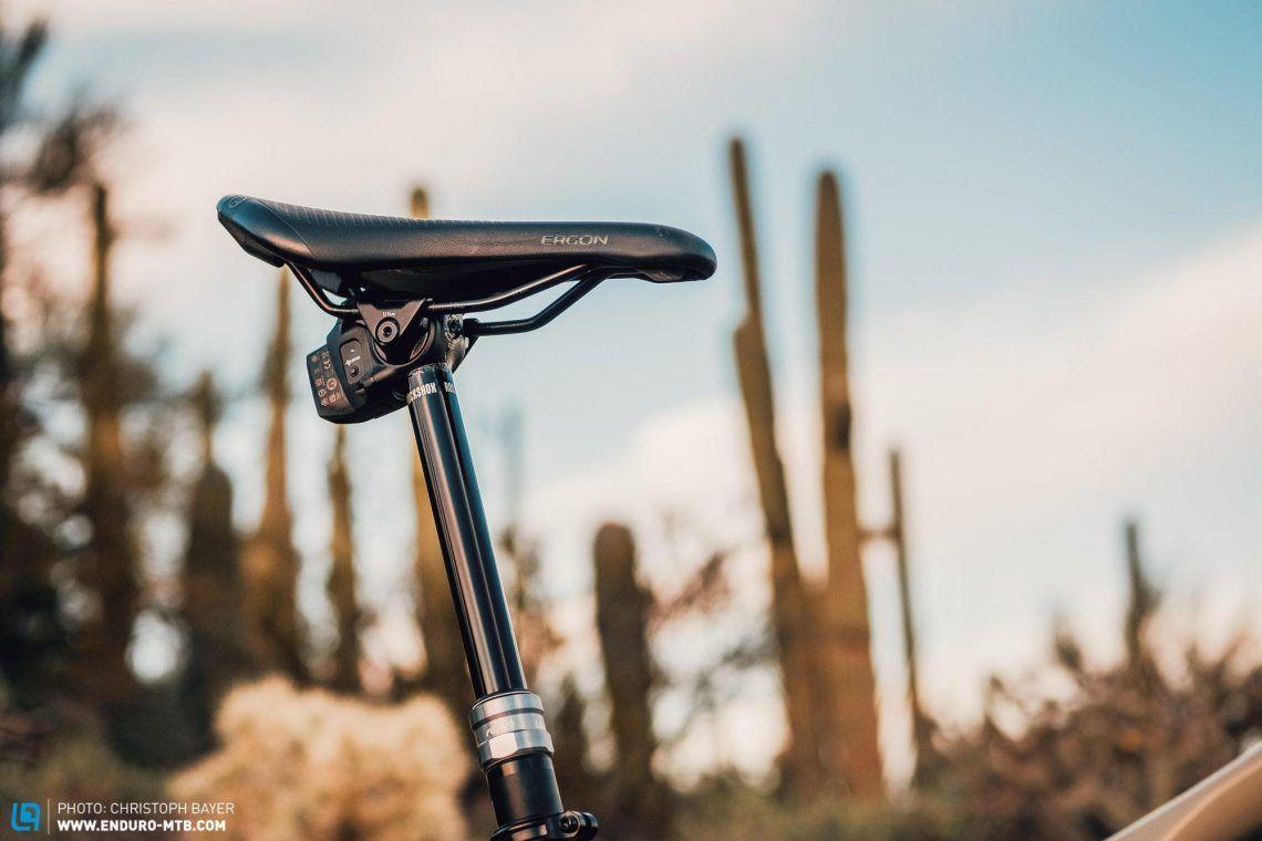 First Ride Electronic Rockshox Reverb Axs Top Notch Dropper Post Riding Enduro Mtb Bike