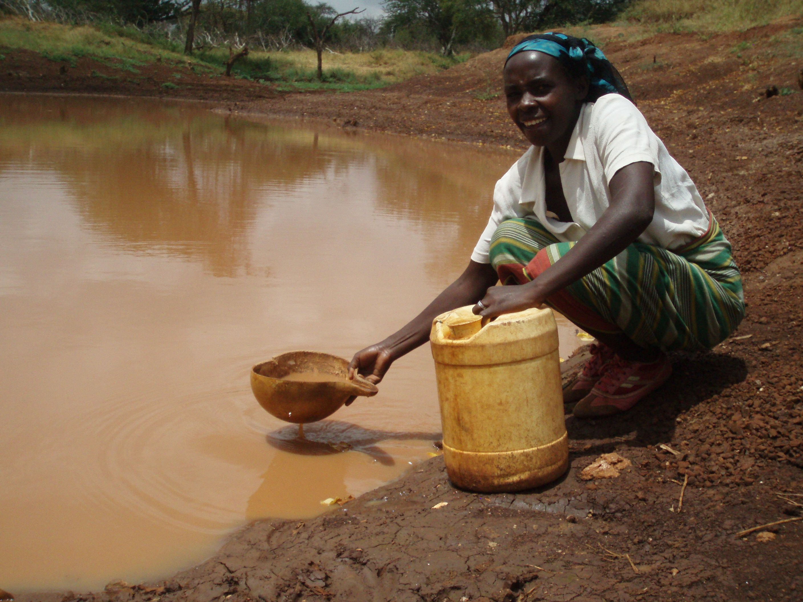 Help provide clean drinking water for those in african
