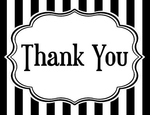 7+ Thank You Clipart Black And White - Preview : Thank You Clip Ar    HDClipartAll