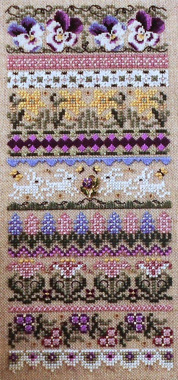 Sampler of My Grandma Cross Stitch Chart and Free Embellishment
