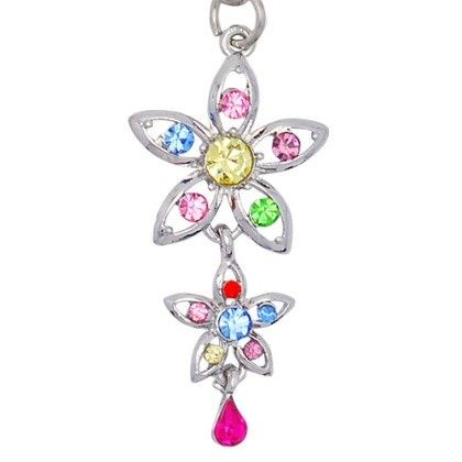 Let's make your phone more beautiful with Muti Color Clovers Cell Phone Charm only $4.95 & free shipping in the US