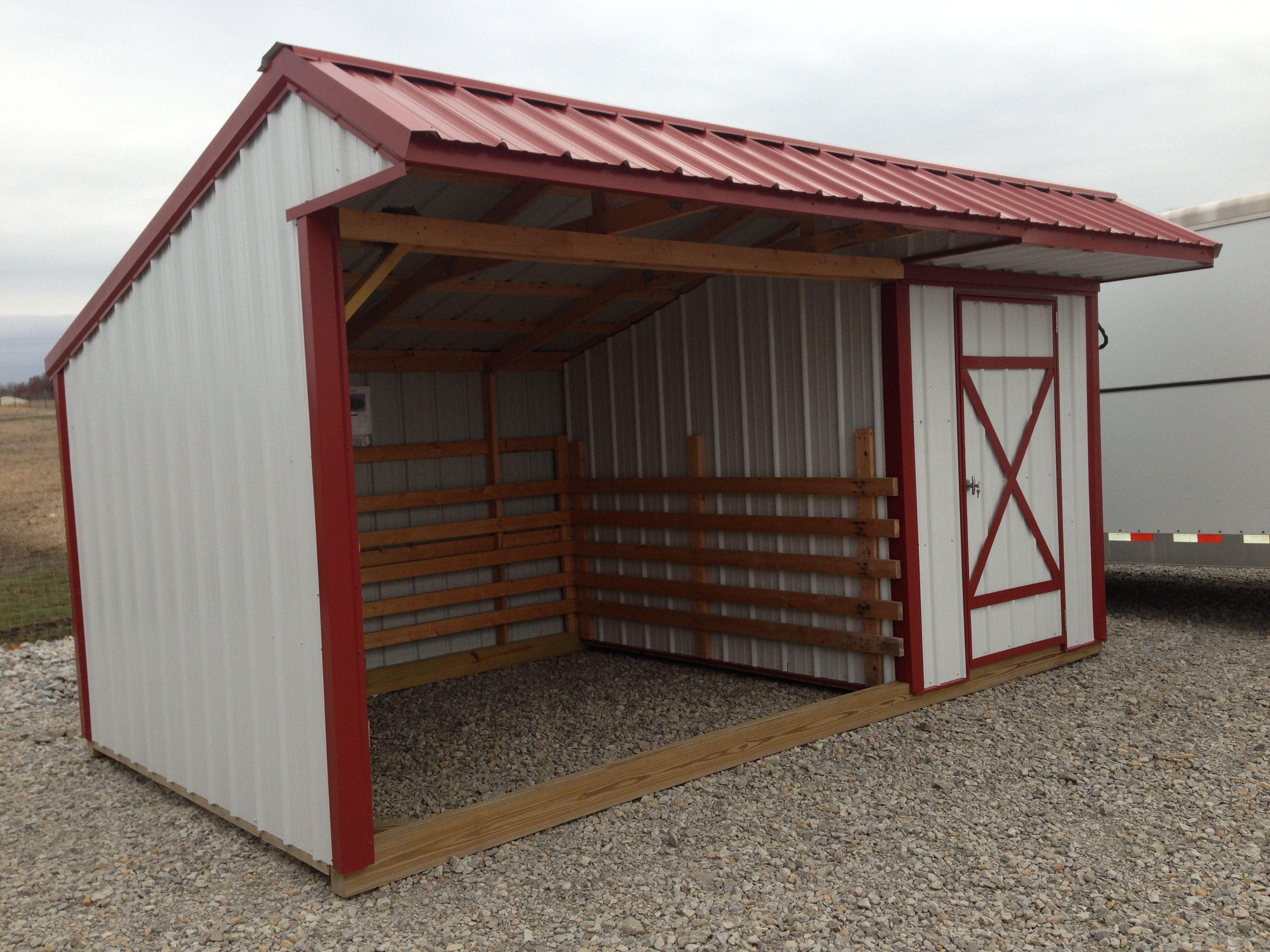Portable pet and livestock shelters in cameron mo for Small portable shed