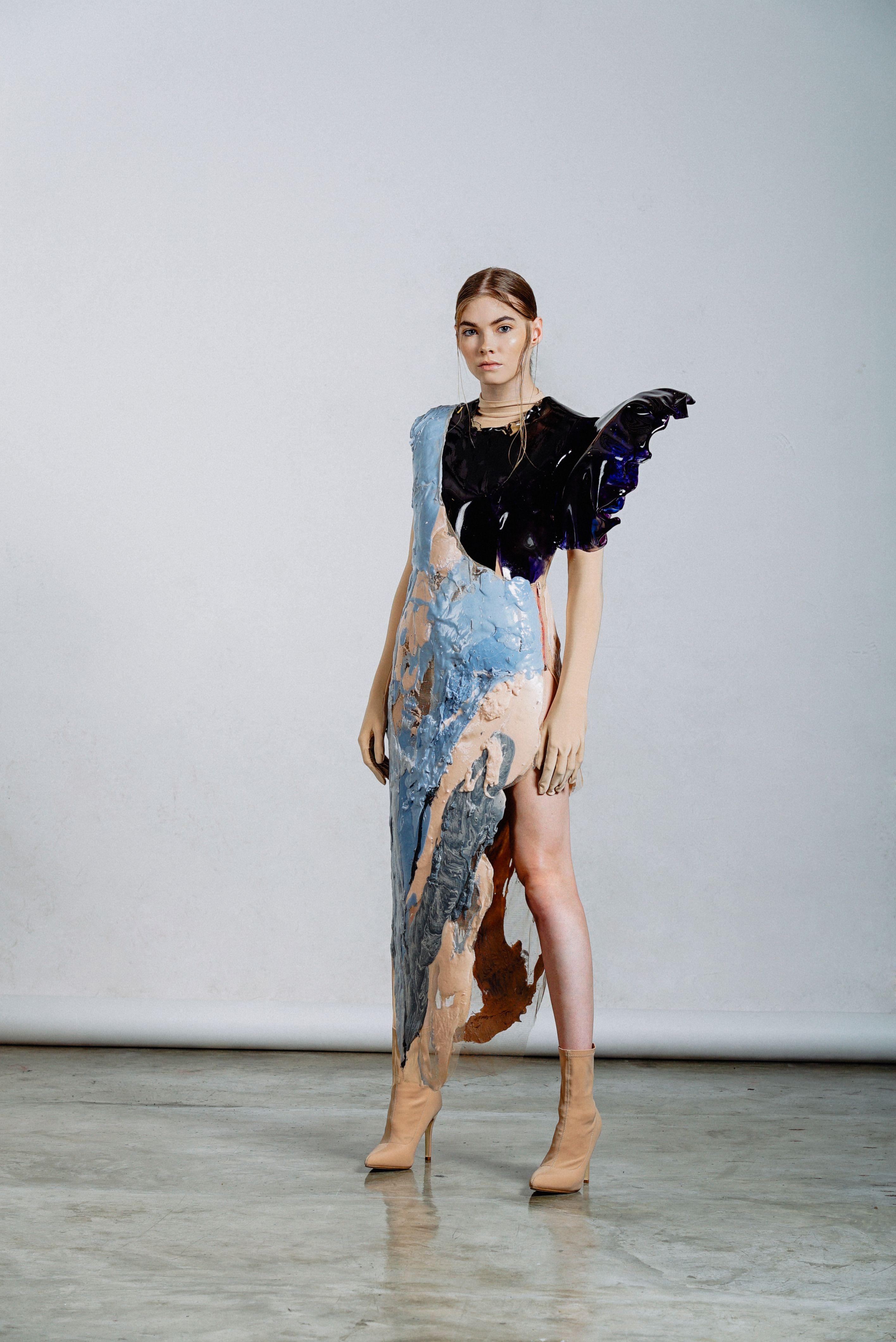 d41b212b287 Kelvin Morales Spring-Summer 2019  fashion  Kelvinmmorales  slime   darkfashion  Lokkbookkelvin