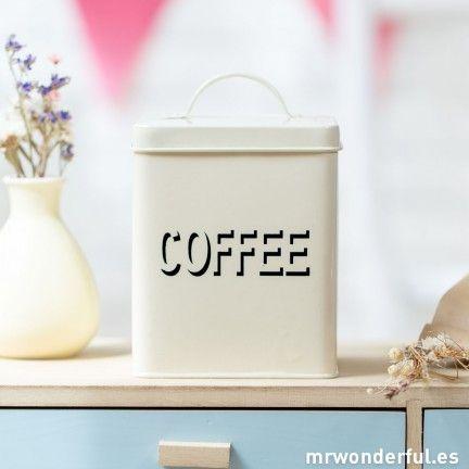 Bote de metal para almacenaje coffee kitchen cocina - Botes almacenaje cocina ...