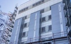 Glass Rom Impex SRL Fatade ventilate la Spitalul Clinic de Copii