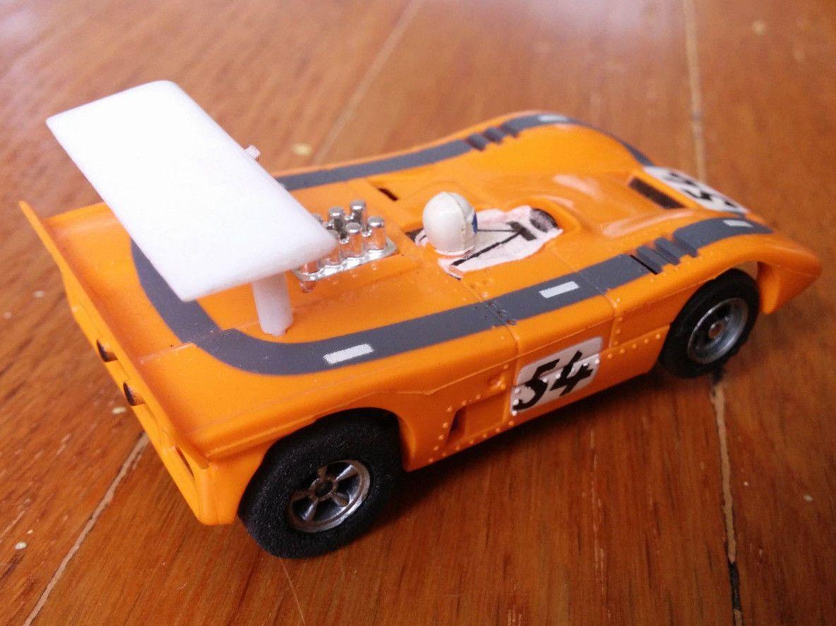http://www.ebay.com/itm/Orange-Auto-World-McLaren-XLR-54-can-am-AFX ...