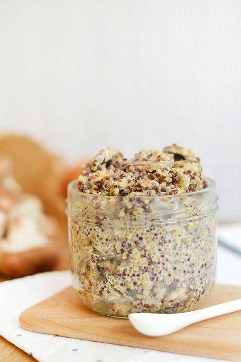 """""""One pot"""" : Risotto de quinoa aux champignons (vegan, sans ..."""
