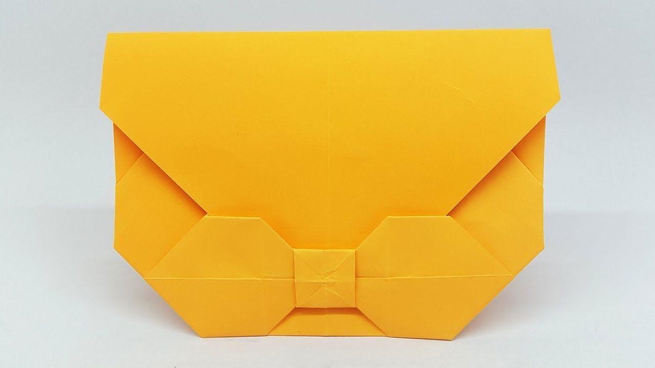 Easy Origami Envelope Making Tutorial - DIY Paper Envelope with ... | 720x1280