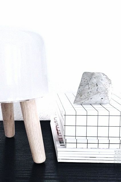 Via Homesick | &Tradition Milk Lamp | HAY | Black and White
