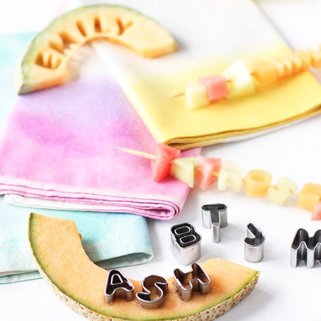DIY Dinner Party: Edible Place Cards   FWx