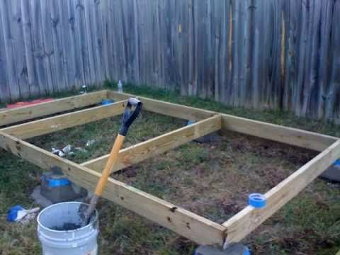 How to build a shed foundation part 1 wood plans pinterest free woodworking projects simple woodworking ideasdiy tall cabinet how to kitchen cabinetsrepainting cabinets do it yourself tall cabinet plans solutioingenieria Choice Image