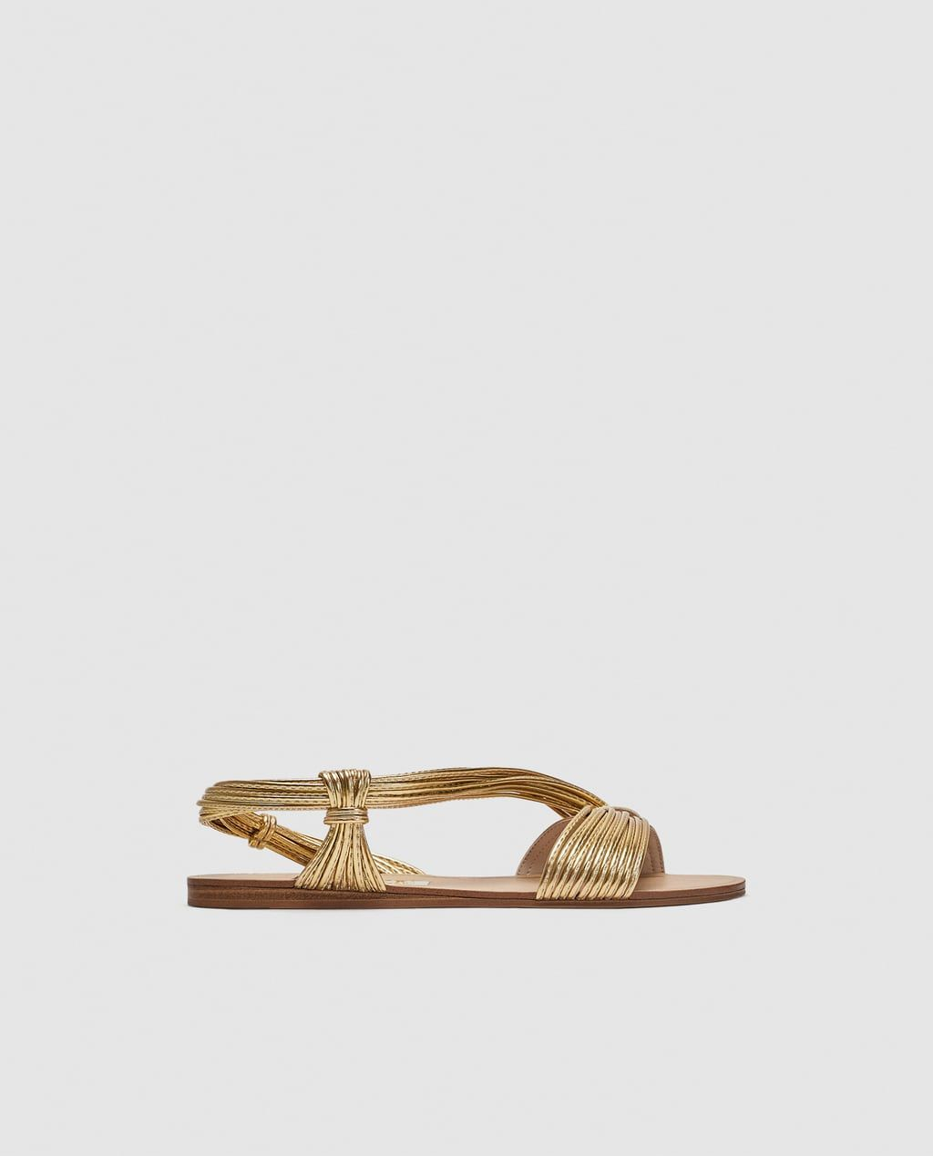 90018a0c480d1 SANDALIA TIRAS MULTICOLOR Zara Fashion