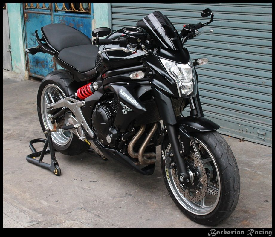 Kawasaki ER6N 2013 Matte Black only 22,000 km For Sale