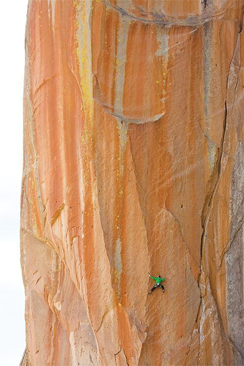 Climbing can help us realize how small we really are in the overall scheme of things (Photo: Andrew Burr).
