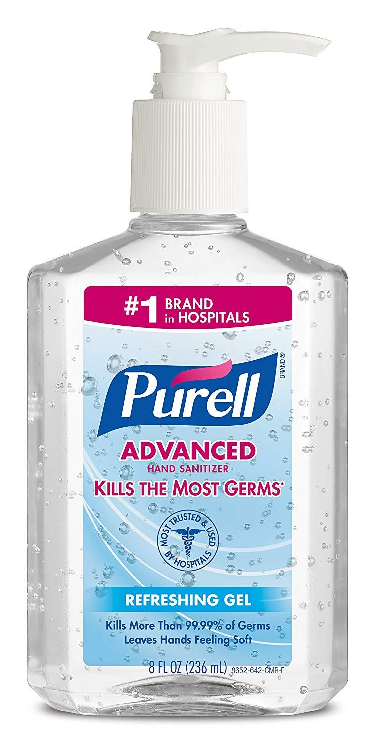 Image Result For Purell Hand Sanitizer Hand Sanitizer Bottle