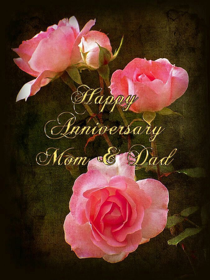 Happy Anniversary Mom Dad Marriage Anniversary Greeting