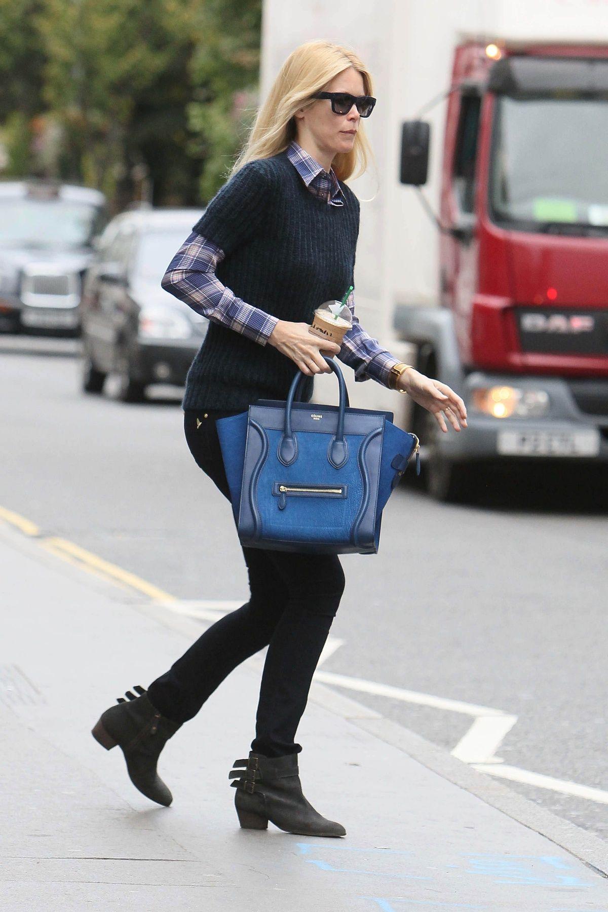 Céline Le People Luggage Obsession De Sac qX8HFPw4