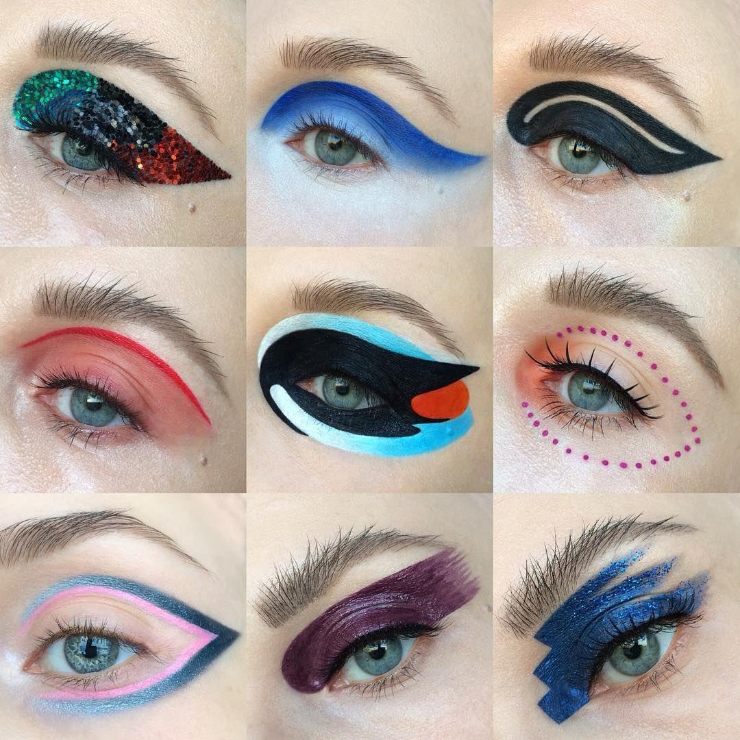 Tatyana On Instagram Creative Eye Makeup Looks
