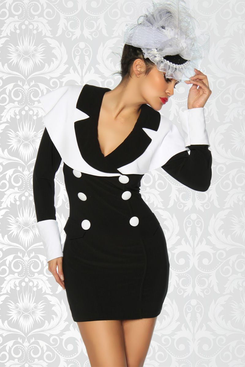 Kleid im vintage stil