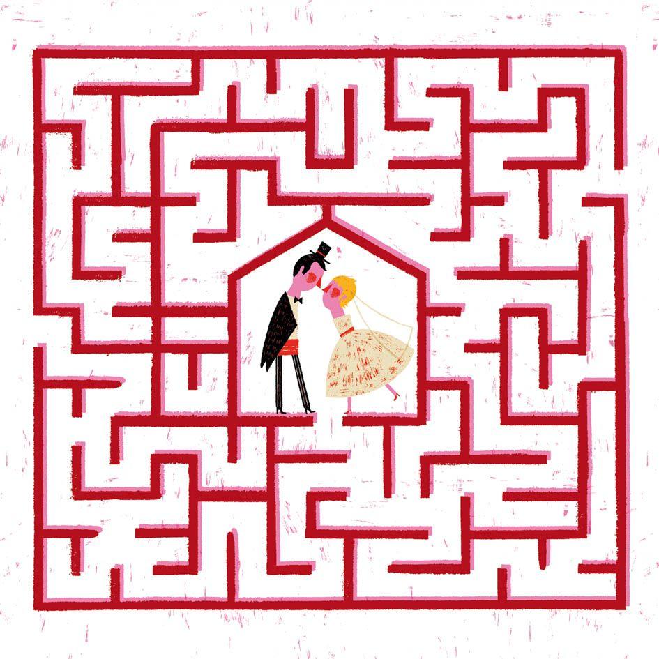 wedding kid kit - maze   Wedding Activity Bag for Kids   Pinterest ...