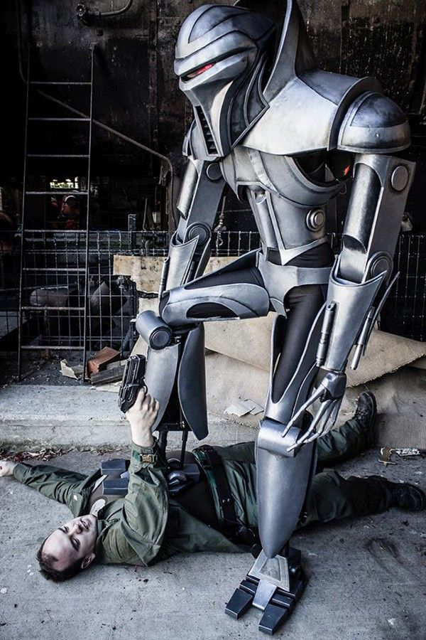 Incredible Cylon Centurion Cosplay It May Never Happen Again