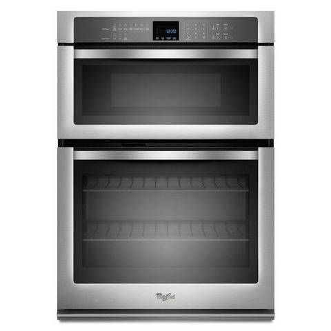 The Whirlpool Microwave Combination Wall Oven With Cu Self Cleaning In Stainless Steel Makes A Breeze Of All Your Cooking Work