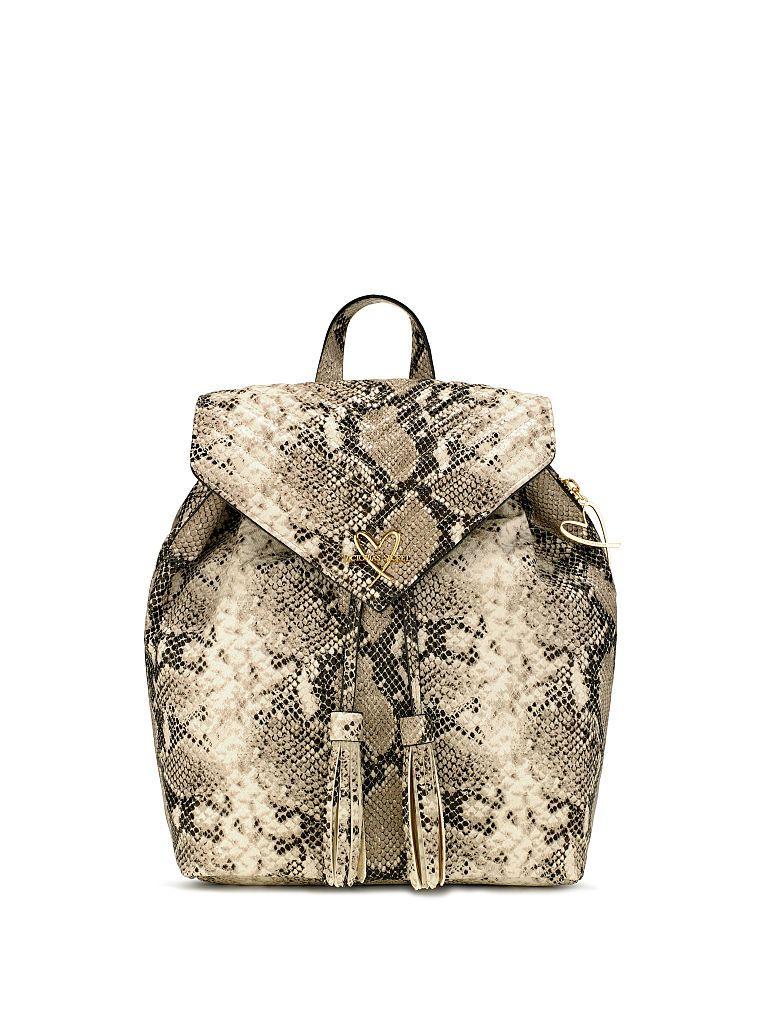 92a9d9488daea V-Quilt Wild Python Angel Backpack | Victoria Secret | Backpacks ...