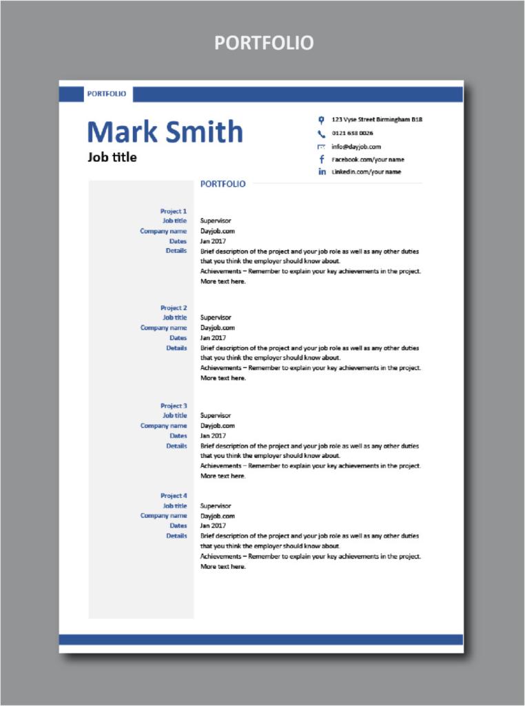 Modern resume template 2 Modern resume template, Resume