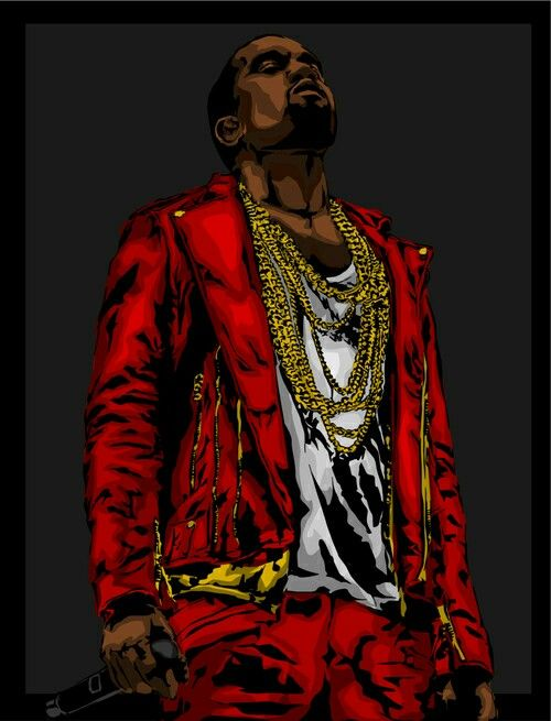 Pin By Raul Alvarez Jr On Rap Illustrations Black Love Art Hip Hop Art Best Of Kanye West