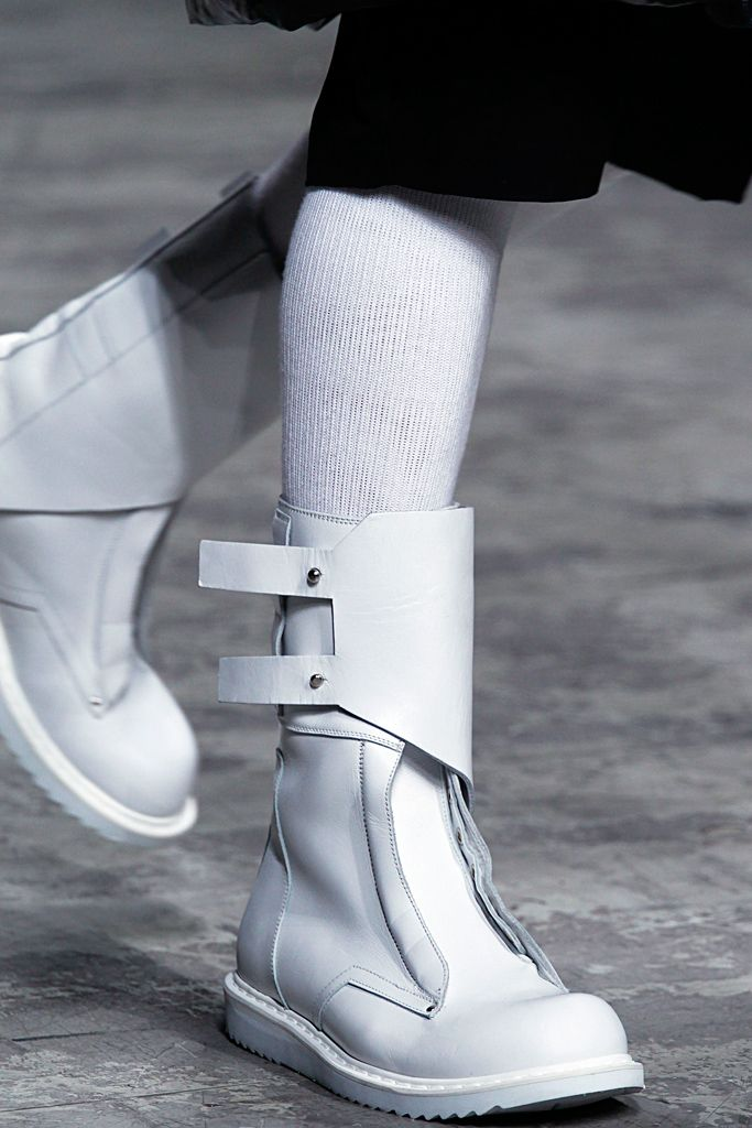 300e301b528 Visions of the Future: Rick Owens Μπότες Ankle, Επώνυμα Παπούτσια, Μπότες,  Slippers