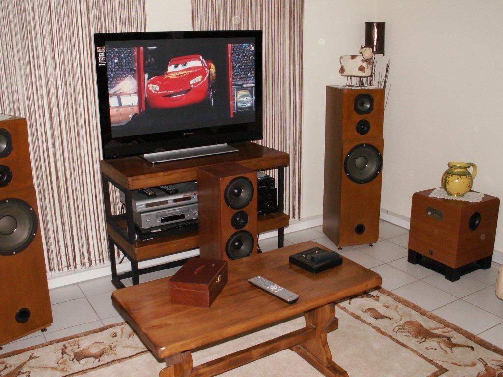 Diy Audax Speaker + Sub Yamaha Ancien Home Cinema