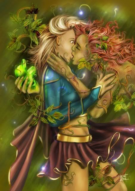 Supergirl Poison Ivy Lesbian Cerca Con Google Supergirl Poison