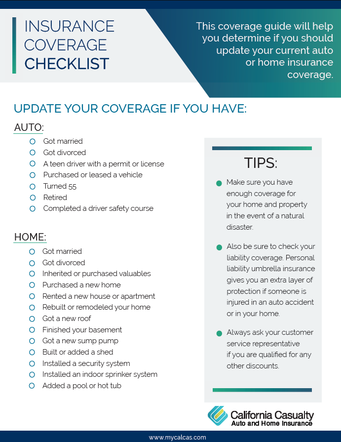 You Should Update And Revise Your Insurance Policy Once A Year