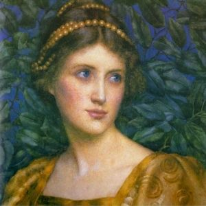 Contemplation - Eleanor Fortescue-Brickdale
