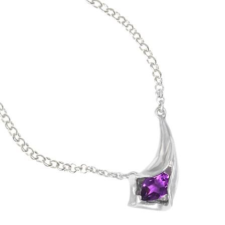Dower & Hall Calalilly Amethyst Pendant