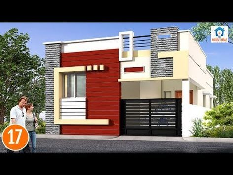Individual Houses Modern Front Elevations Single Floor Home Designs House Elevation Small House Elevation Design Small House Elevation Small House Design